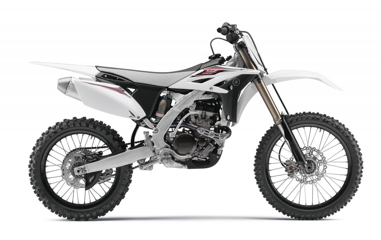 Yamaha yz 250 f 2013 yamaha yz250f white plastics 03 1 for Yamaha dirt bike plastics