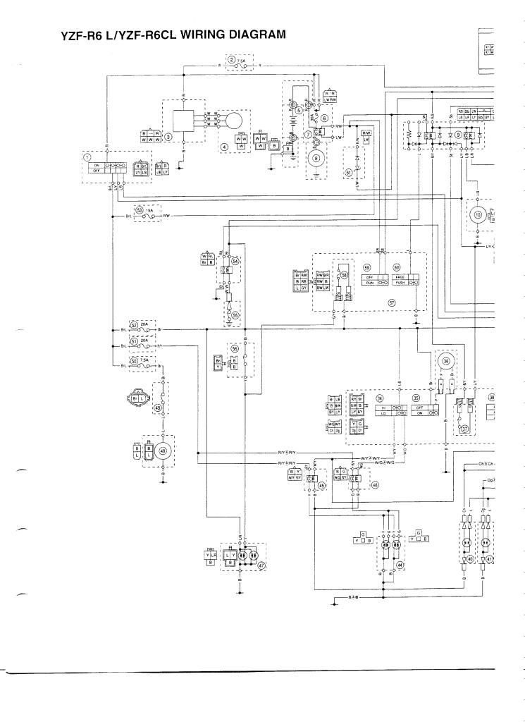 Yzf R6 L Cl Wiring Diagram Pdf  191 Kb